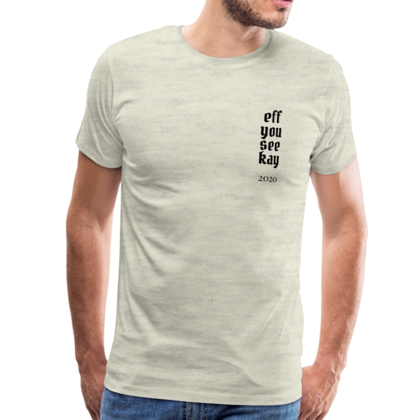 Men's Graphic T-Shirt - heather oatmeal