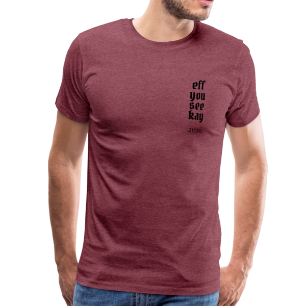 Men's Graphic T-Shirt - heather burgundy