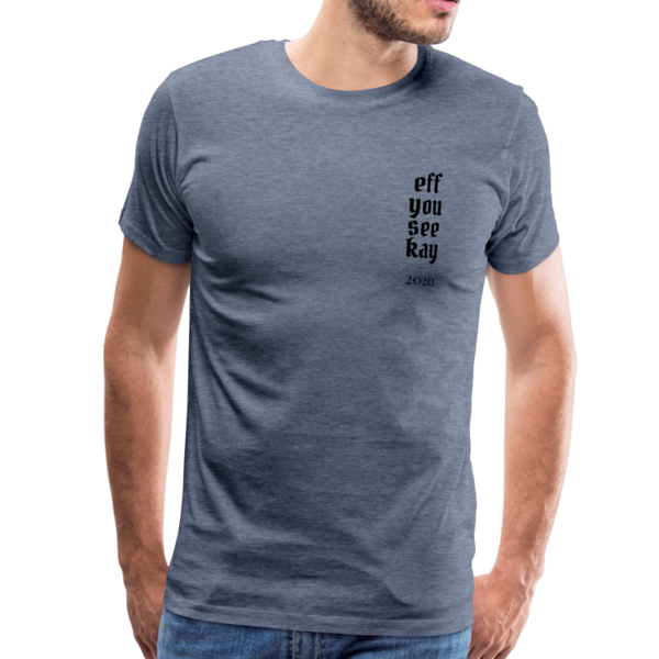 Men's Graphic T-Shirt - heather blue