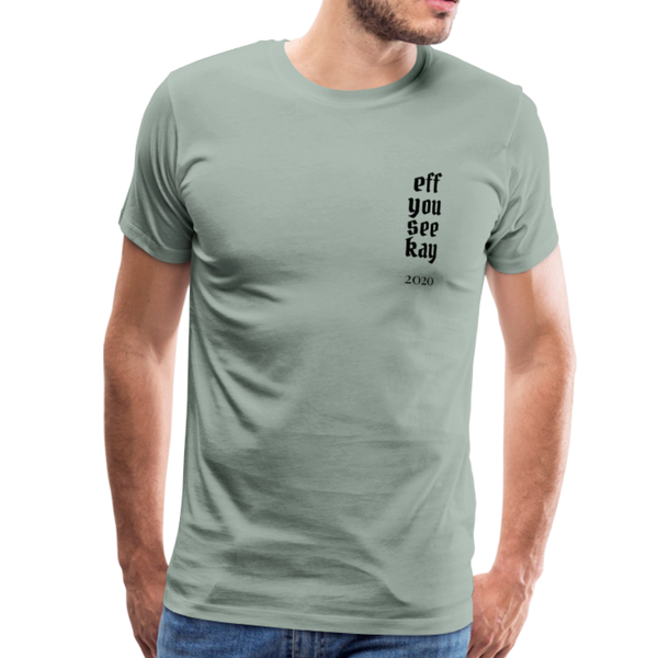Men's Graphic T-Shirt - steel green