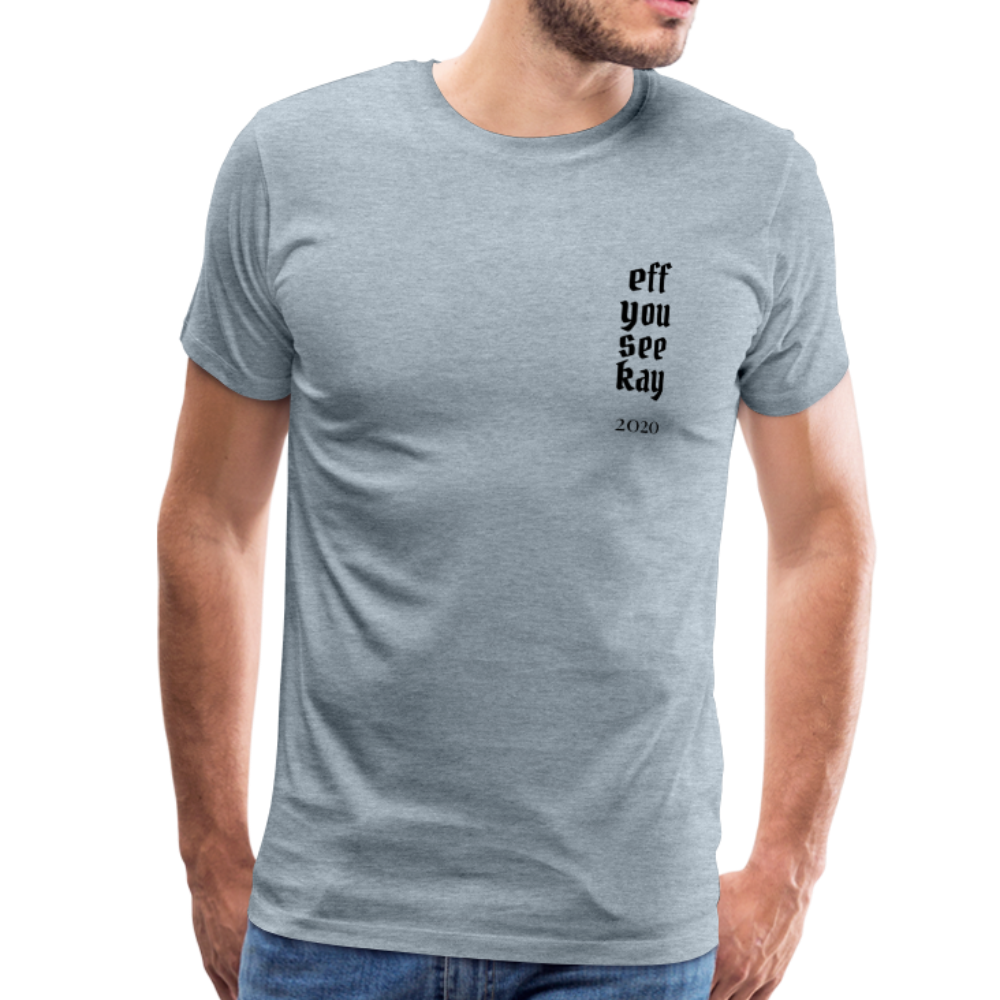 Men's Graphic T-Shirt - heather ice blue