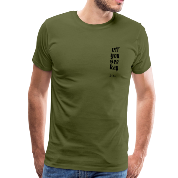 Men's Graphic T-Shirt - olive green