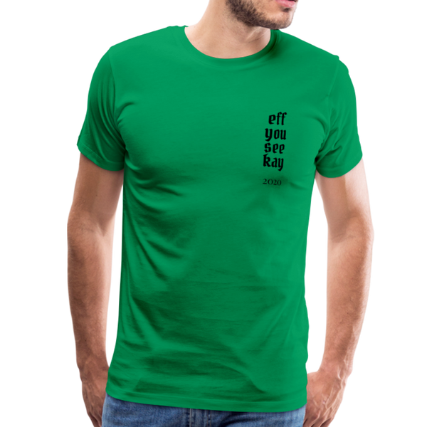 Men's Graphic T-Shirt - kelly green