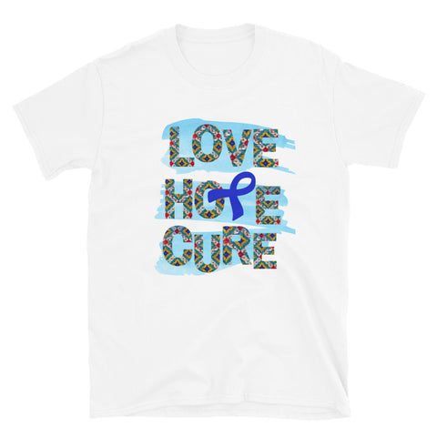 Colon Cancer Awareness, Blue Awareness Ribbon, Awareness Clothing, Unique Gift Idea, Inspirational Gift, Survivor Gift