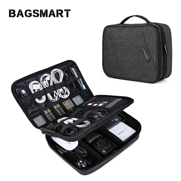 Electronics Portable Travel Accessory Bag