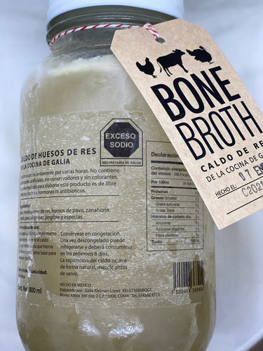Bone broth - Caldo de Res