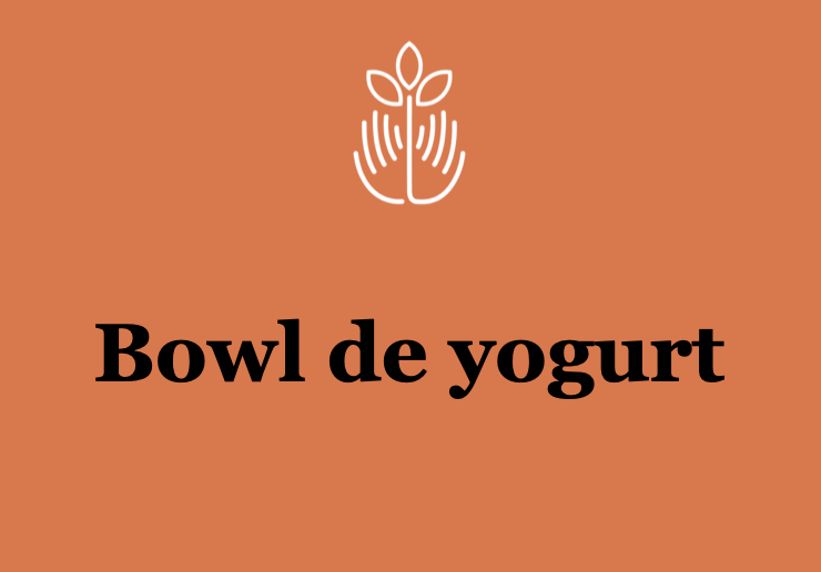 Bowl de yogurt
