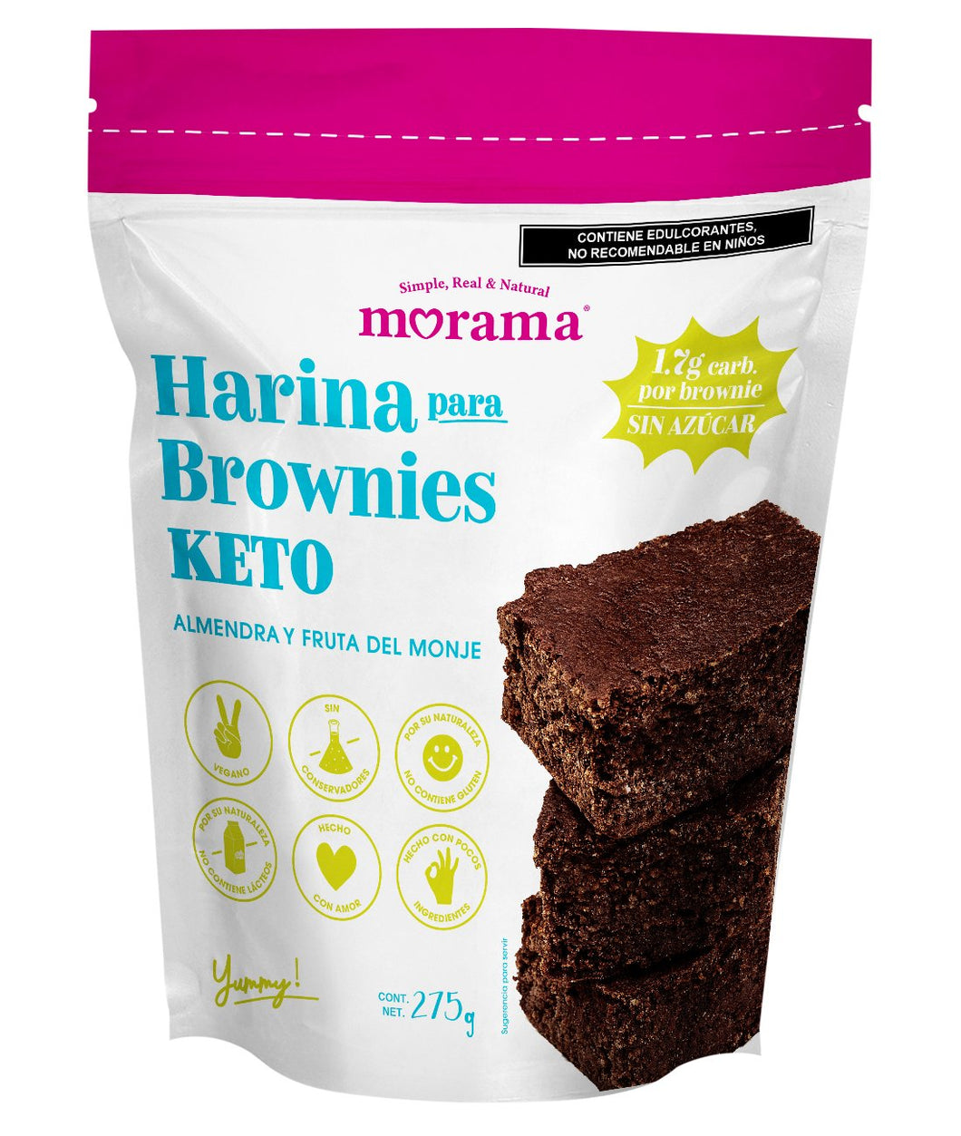 Harina Brownies Keto