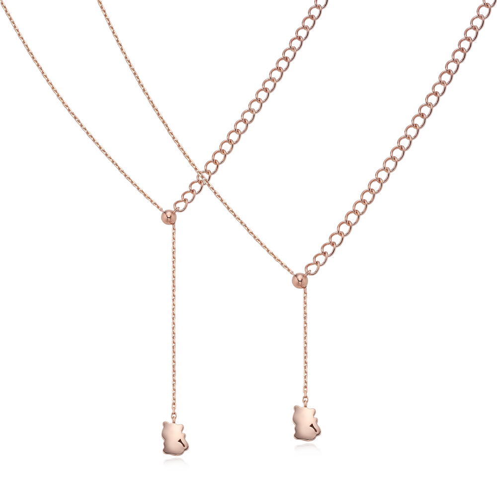 14k Pink Gold Elle Kaiu N3 Necklace No.3- Tiger, Women's jewelry, Kaiu family jewelry