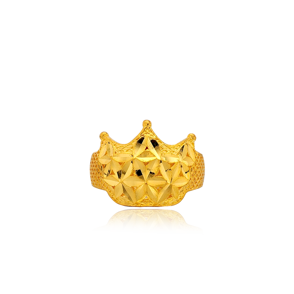 24K Pure Gold 3.75g Baby Ring