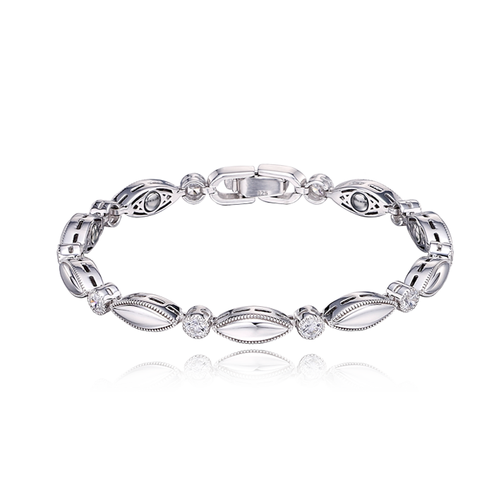 Silver Germanium Women Bracelet