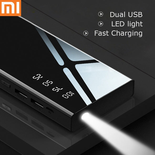 Portable Cell Phone Battery Charger 10000 mA power bank  Bidirectional Fast Charging