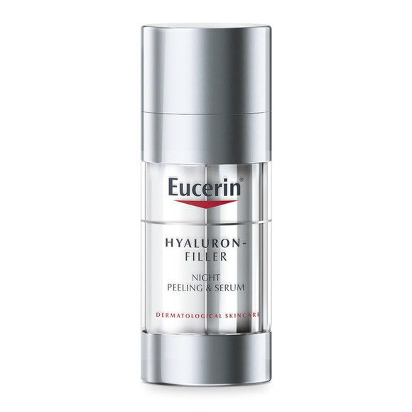 Eucerin Hyaluron Filler Night Peeling & Serum 30ml