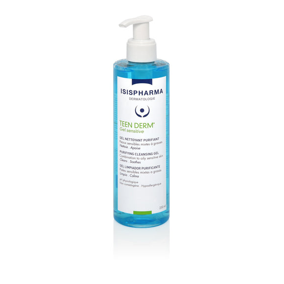 TEEN DERM GEL SENSITIVE 250ml