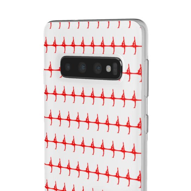 Patterned Silhouette Phone Case
