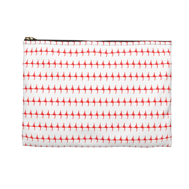 Patterned Silhouette Pouch