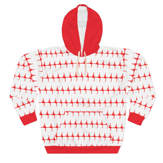 Patterned Silhouette Hoodie [Limited Drop]