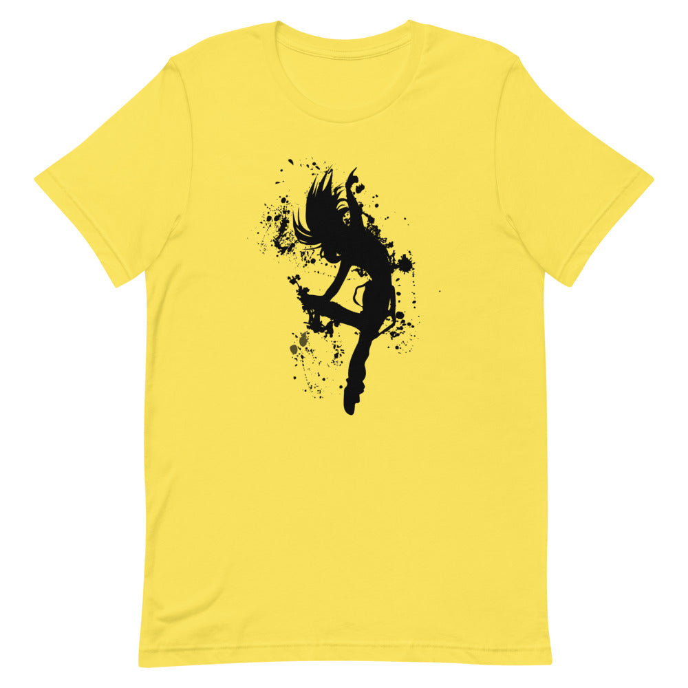 dancer tee (yellow)