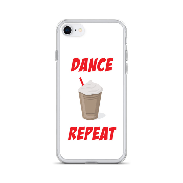 Dance Coffee Repeat iPhone Case