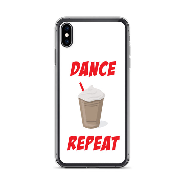 Dance, Coffee, Repeat iPhone Case