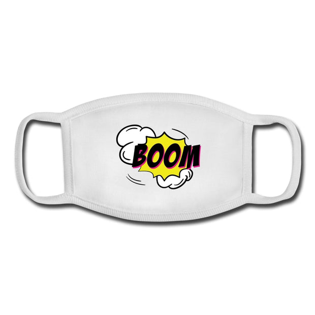 boom kids face mask (youth)