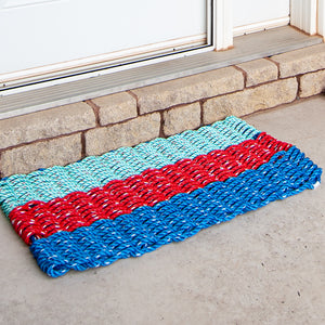 "Lobster Rope Doormat - Signature Series ""Lobsters' Tale"""