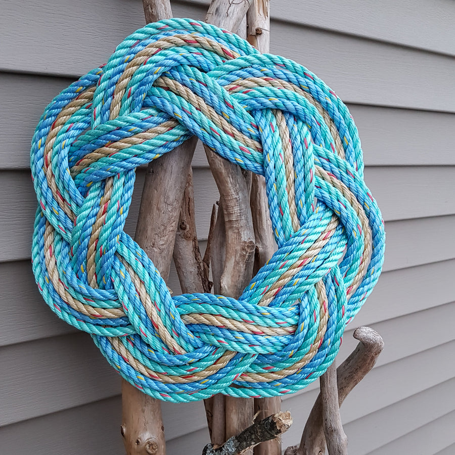 "16"" Signature Series ""Sail Away"" Sailors Wreath"