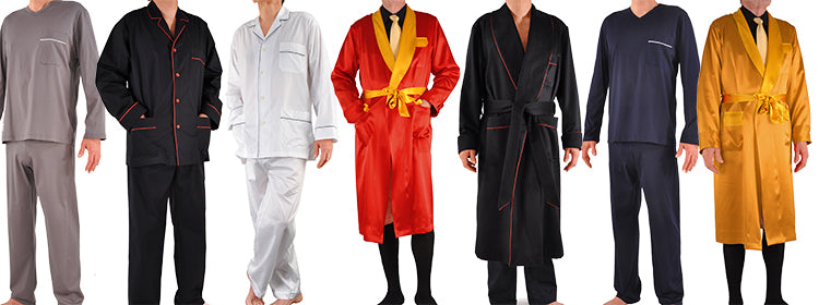 Mens Pajamas, Robes, and Dressing Gowns