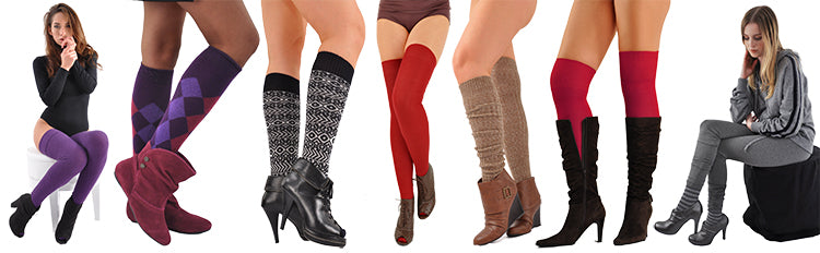 Womens Boot Socks