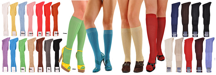 Knee-High Solid Colors