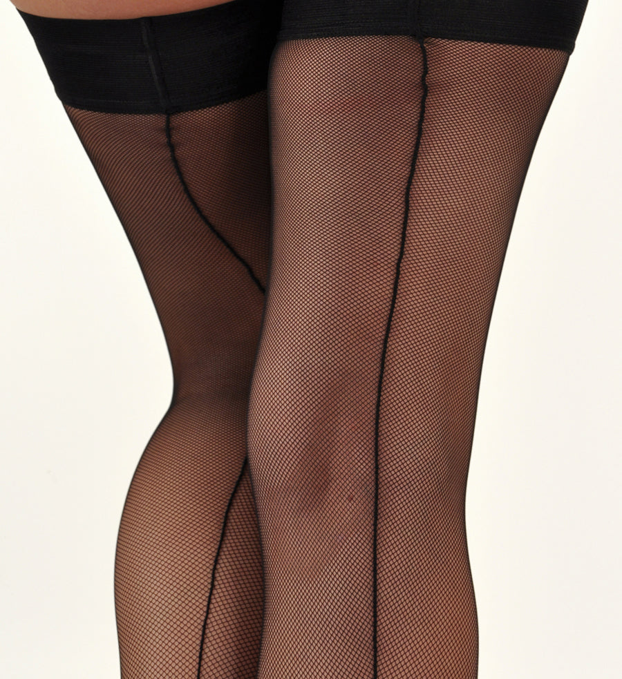 Seamed Back Hosiery