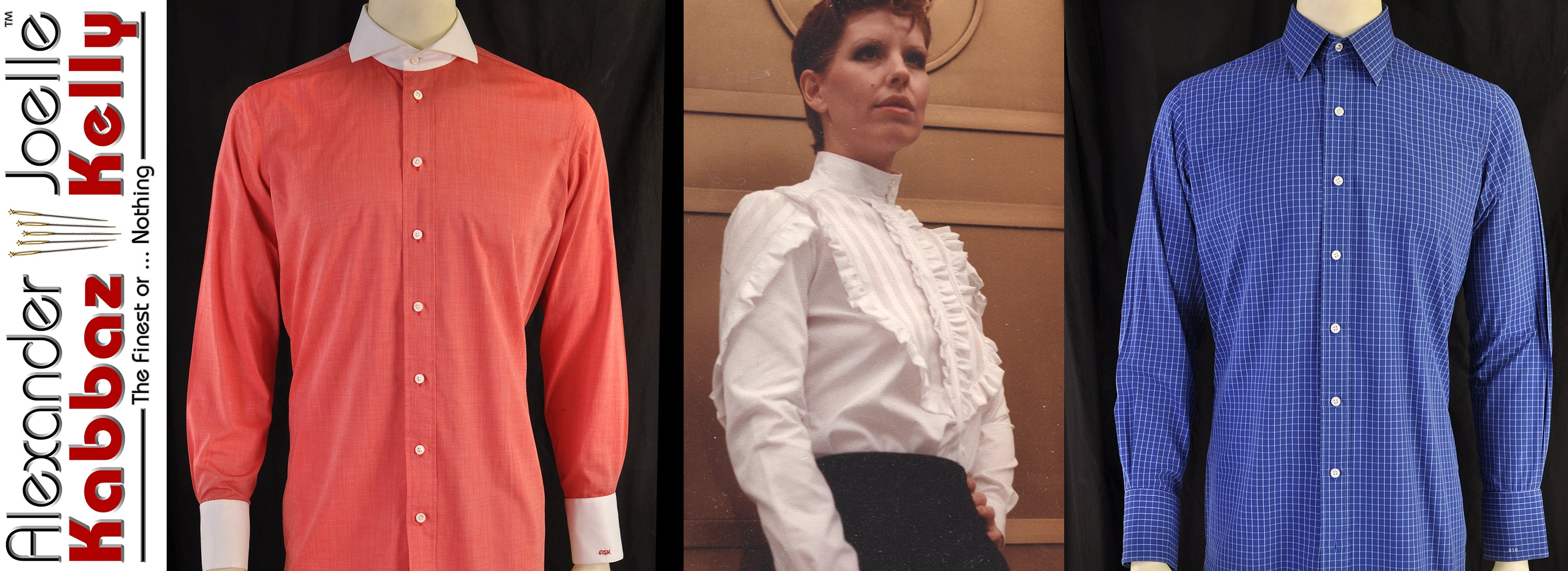 Bespoke Shirts and Blouses by Alexander Kabbaz-Joelle Kelly & Sons