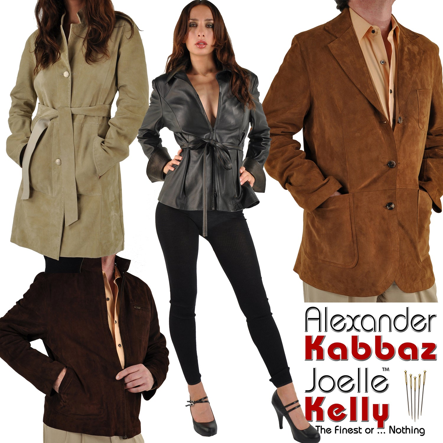 Bespoke Leather Outerwear by Kabbaz-Kelly