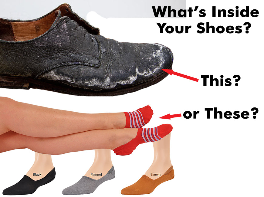 What's Inside Your Shoes?