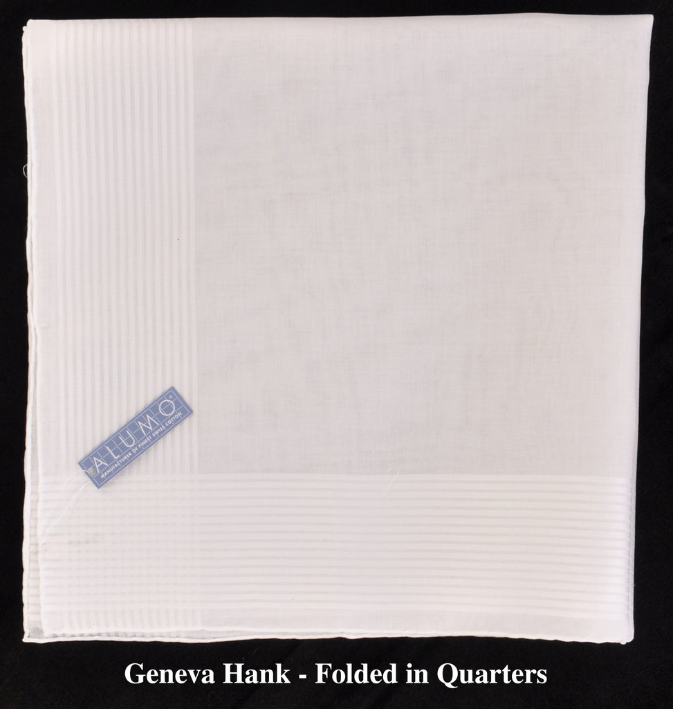 A World's Finest Selection: HandRolled Swiss Cotton Handkerchiefs-by Alumo