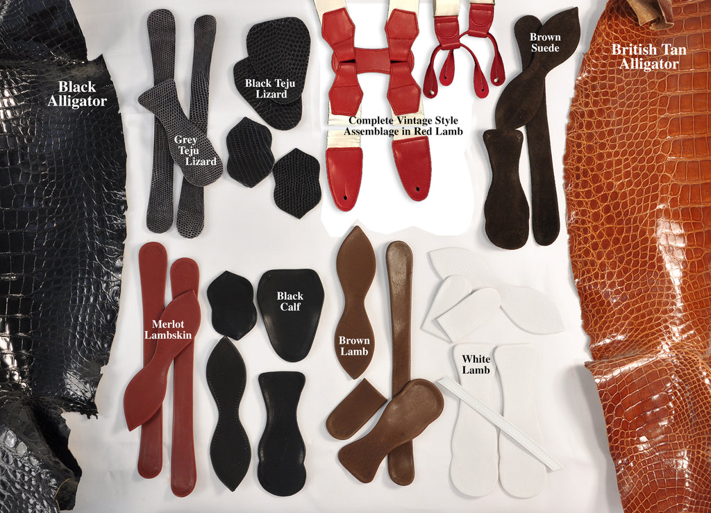 A Sample of Leather and Skin Colors