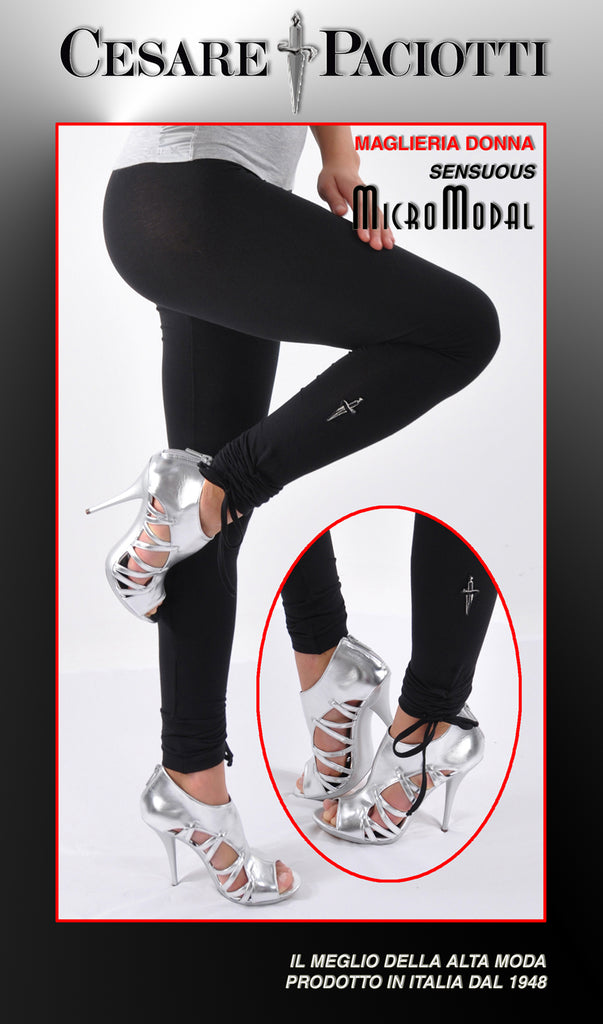 Limited Edition Italian Couture MicroModal Leggings
