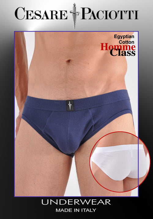 Homme Class Closed Fly Cotton Brief