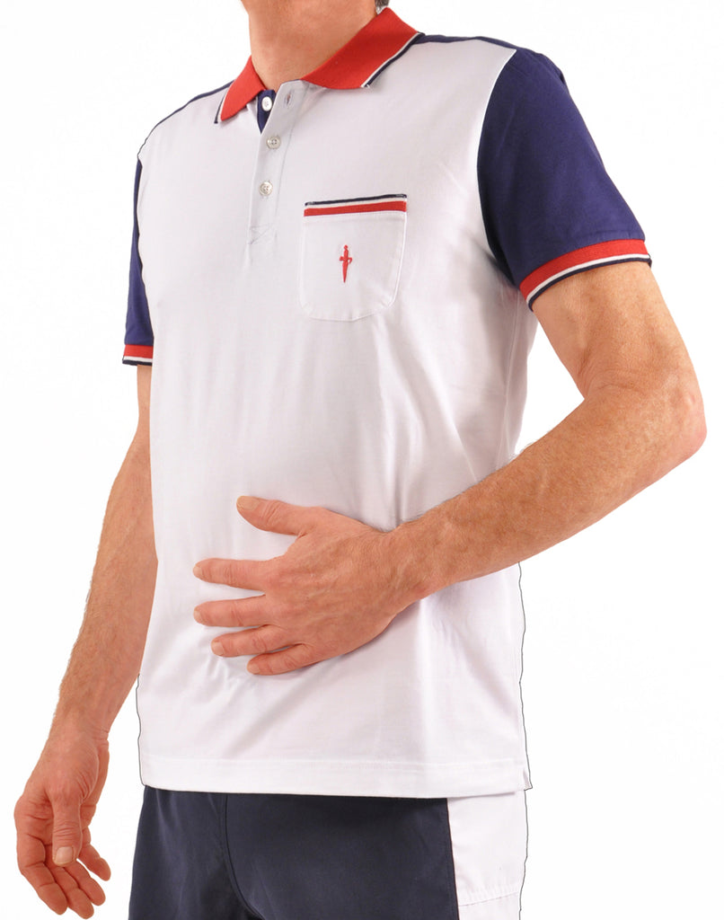 Filo di Scozia Cotton Short Sleeve Italian Golf/Polo Shirt