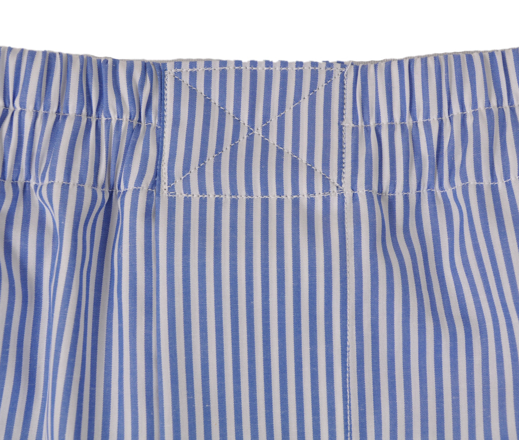 Closed Front Waistband (shown on cotton boxer)