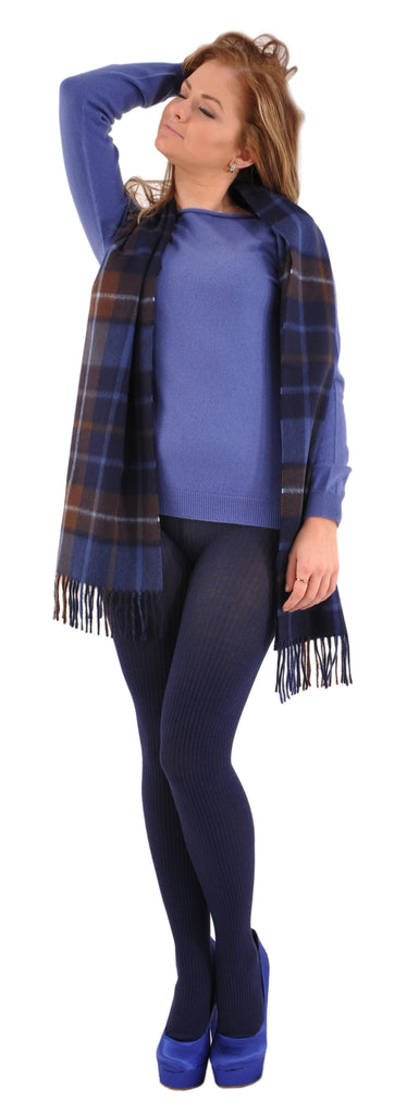 Augustus with Gran Sasso and Bresciani Cashmere Sweater and Leggings