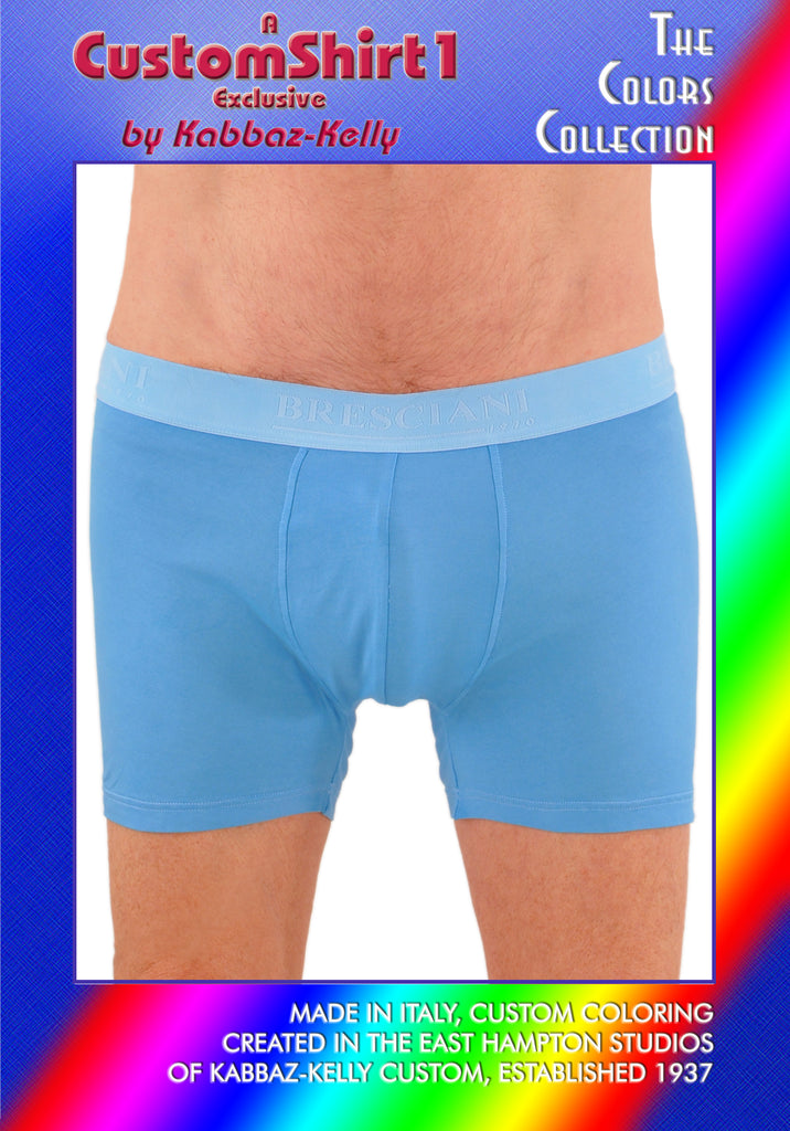 Custom Colors by Kabbaz-Kelly: Supremo Reale Egyptian Cotton Low-Rise Boxer Brief