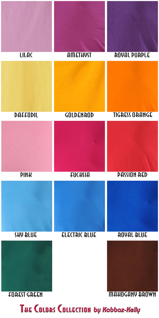 Pure Elegance Custom Colors Chart