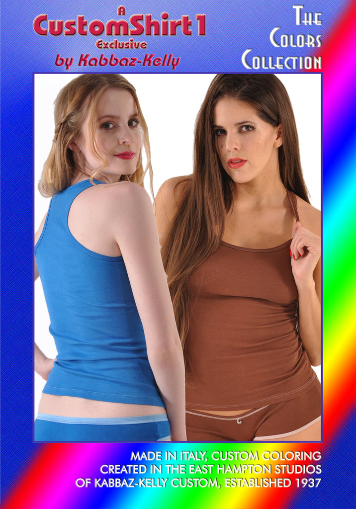 Kabbaz-Kelly Custom Colors Collection Cotton/Lycra Racerback Tank Top