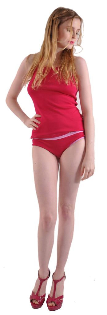 Pure Grace Bikini Panty in Fuchsia