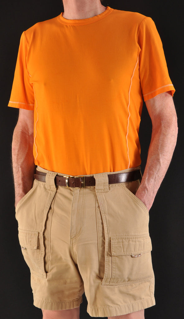 Tiger Orange Crew with Summer Shorts