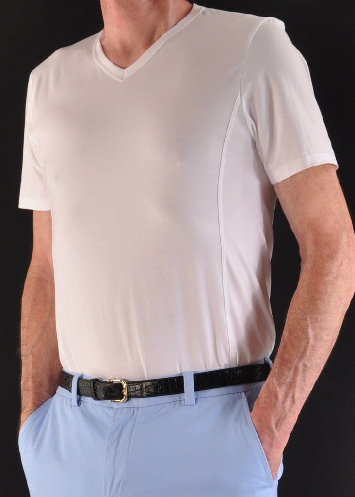 White - Great for Casual or an Undershirt