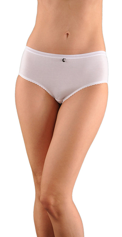 A Kabbaz-Kelly Design: Pure Elegance Soft Italian Cotton Maxi-Panty