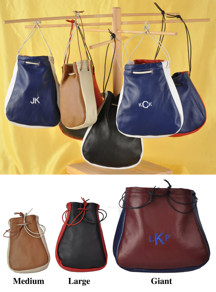 Custom Made Lambskin Pouches & Bags