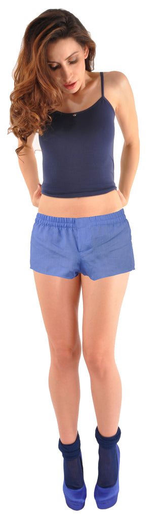 World's Finest Women's Linen Shorts: HandMade-To-Order